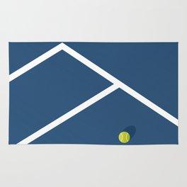 Tennis Court: Australia Rug