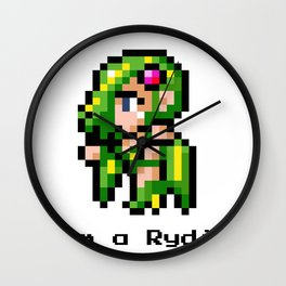 I'm A Rydia (not a Carrie) Wall Clock