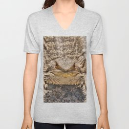 Bearded Dragon Unisex V-Neck