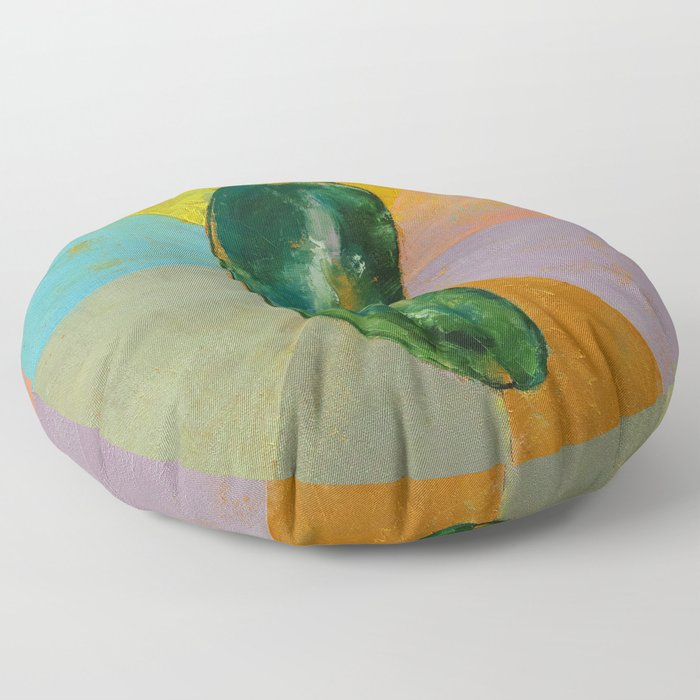 Jalapeño Floor Pillow