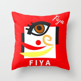 """"""" Carry On, F I Y A """" Throw Pillow"""