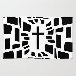 Christian Cross Rug