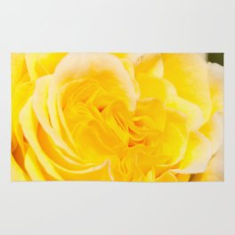 A Touch of Yellow #Rose #1 #art #society6 Rug