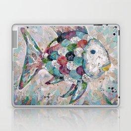 Rainbow Fish Collage Laptop & iPad Skin