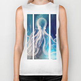 Octopus Tryptic Biker Tank