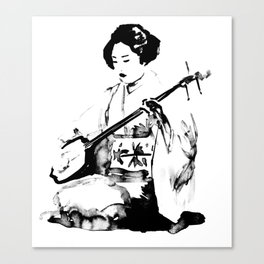 shamisen Canvas Print
