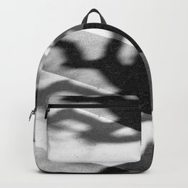 zebra crossing, tree shadow Backpack