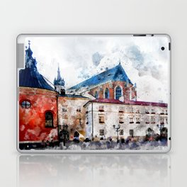 Cracow art 21 #cracow #krakow #city Laptop & iPad Skin