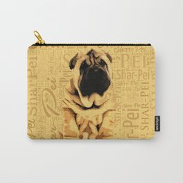 Shar-Pei puppy Carry-All Pouch