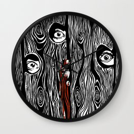 never alone Wall Clock