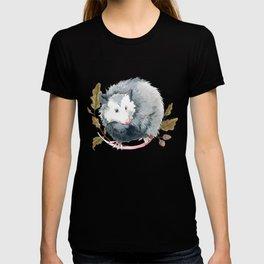 Possum and Oak Leaves T-shirt