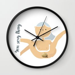 You Sexy Thing Wall Clock