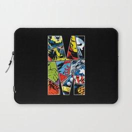 Classic comic heroes Laptop Sleeve
