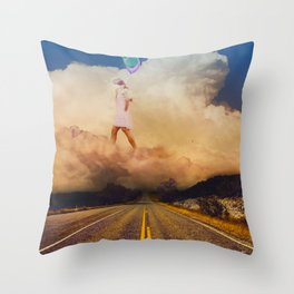 A matter of perception: As above, So below Throw Pillow
