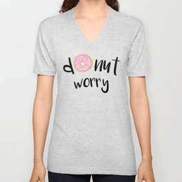 Donut Worry Unisex V-Neck