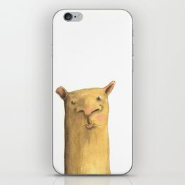 The Square Dog iPhone Skin