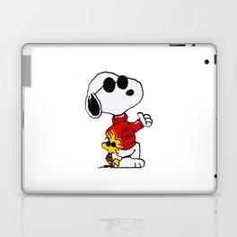 Cute Snoopy dog joe cool Laptop & iPad Skin