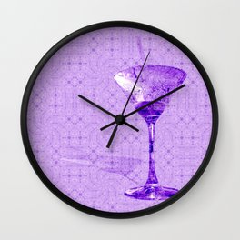 Cocktail for one Wall Clock