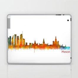 Moscow City Skyline art HQ v2 Laptop & iPad Skin