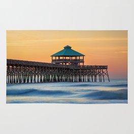 Folly Pier Sunrise Rug