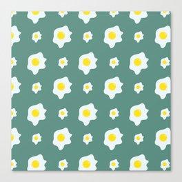 Eggs Pattern Canvas Print