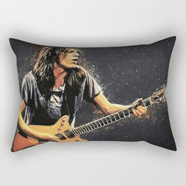 Malcolm Young Rectangular Pillow