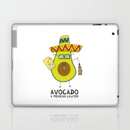 Avocado - A mexican lawyer Laptop & iPad Skin