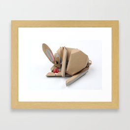 Unlucky Rabbits Foot Framed Art Print