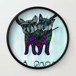 Rara siameser Wall Clock