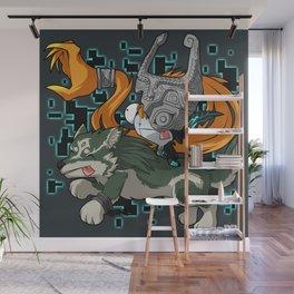 Invader Midna Wall Mural