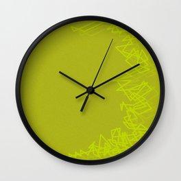Bang yellow Wall Clock