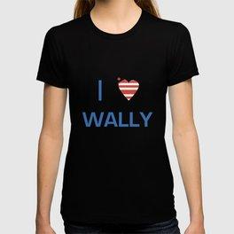 I Heart Wally T-shirt