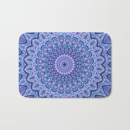 Purple Passion - Mandala Art Bath Mat