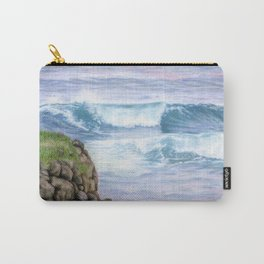 Cliff By The Sea Carry-All Pouch