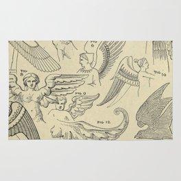 Winged Mythology Rug