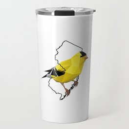 New Jersey – American Goldfinch Travel Mug