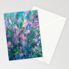 """""""FAIRY DREAMS"""" Original Painting by Cyd Rust Stationery Cards"""