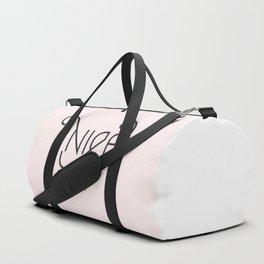 Nice as Fuck Duffle Bag