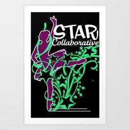 Neon Ballet Collaborative Art Print
