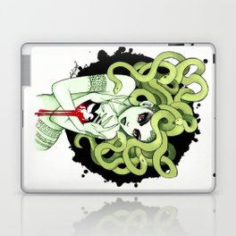 Medusa in Vignette Laptop & iPad Skin