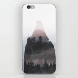All your weight falls on me iPhone Skin