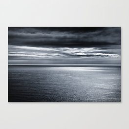 storm over water Canvas Print