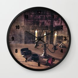 BDSM Rendezvous Wall Clock
