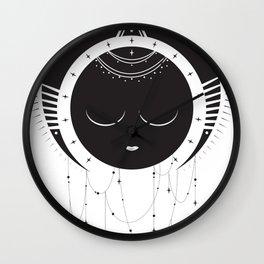 MoonSun Goddess Wall Clock