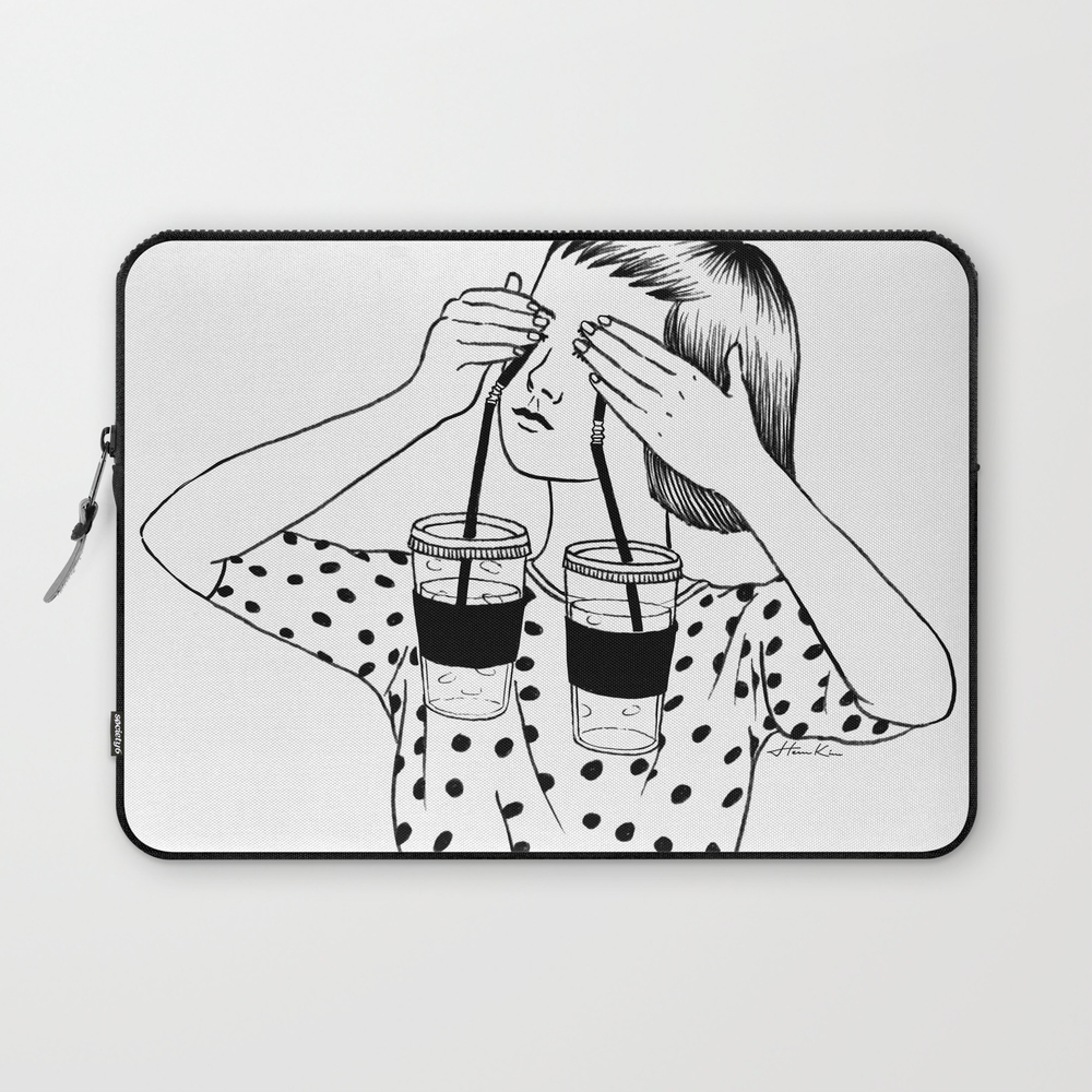 Two Cups Of Tears Laptop Sleeve LSV3544239
