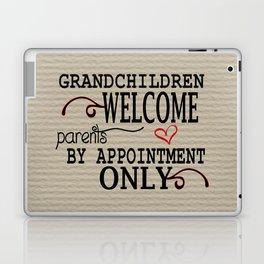 Grandchildren Welcome Laptop & iPad Skin
