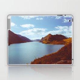 Blue Lake in Scandinavia Laptop & iPad Skin