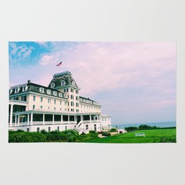 Ocean House Hotel in Watch Hill Rhode Island Rug