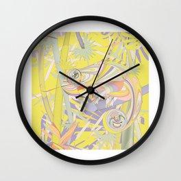 Aloha Garden Wall Clock
