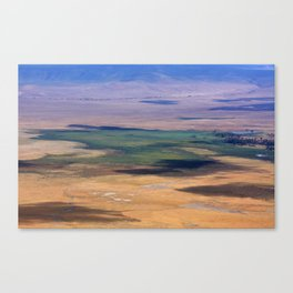 Ngorongoro Crater Tanzania Canvas Print
